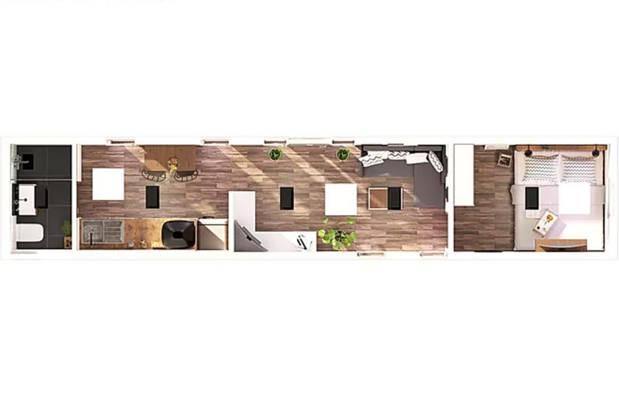 Tiny house maxi 1
